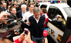 George Clooney arrested for civil disobedience after protesting at the Sudan Embassy in Washington