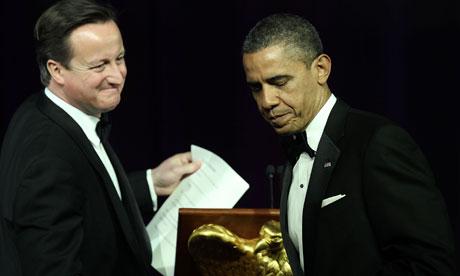 David Cameron and Presidene Obama in Washington