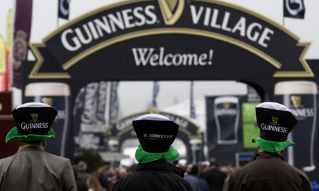Guinness Village at Cheltenham racecourse