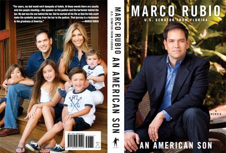 Marco Rubio book jacket