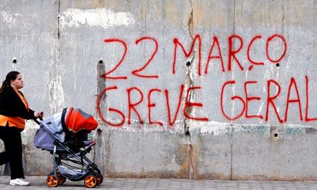 Portugal general strike