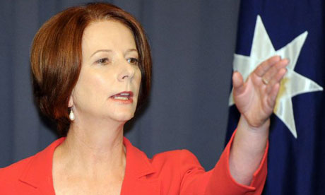 Julia Gillard moves to distance Labor party from scandals
