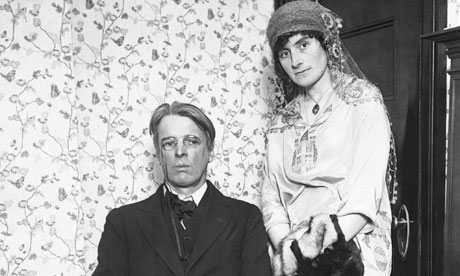 William Butler Yeats and Wife Georgie