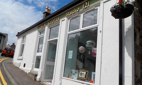 Happyhills Studio in West Kilbride
