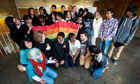 The Gay-Straight Alliance at Copland school has screened Batty Man, ...