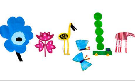 احتفل الاعتدال الربيعي في خربش جوجل