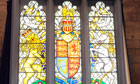 Queen's diamond jubilee stained glass window