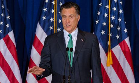 Mitt Romney in Chicago