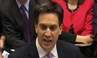 The Labour leader, Ed Miliband, delivers his response to George Osborne's budget