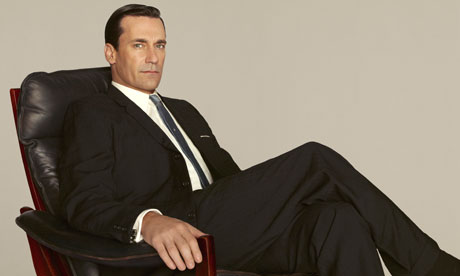 Jon Hamm as Don Draper in season five.