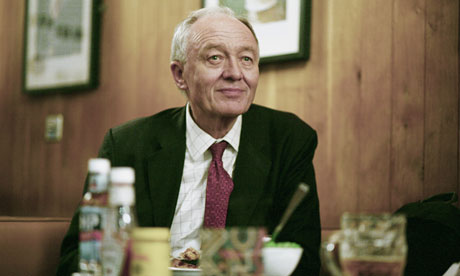 Ken Livingstone, Labour's candidate for mayor of London.