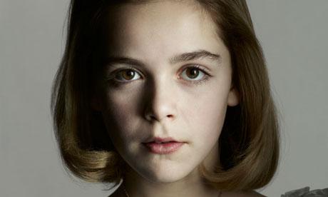 Kiernan Shipka as Sally Draper.