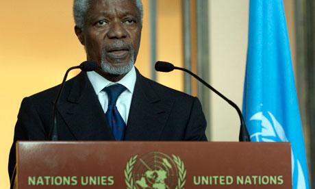 Kofi Annan UN Syria