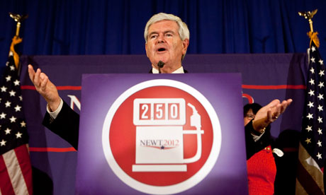 Newt Gingrich admits defeat but refuses to quit – elections 2012 live