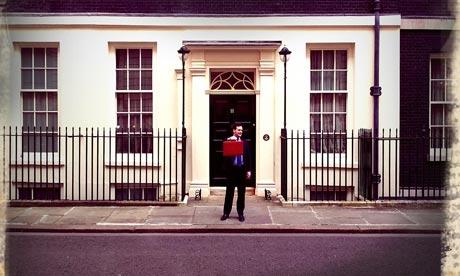 George Osborne budget Retro app