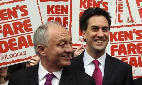 Ken Livingstone and Ed Miliband