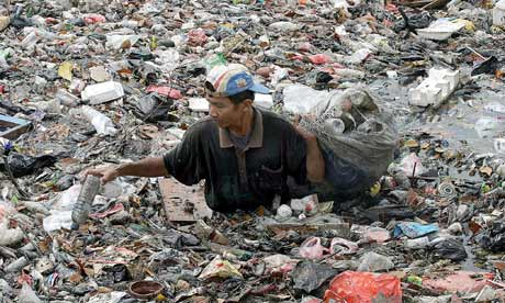Plastic pollution in Indonesia