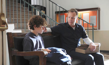 Kiefer Sutherland and David Mazouz in Fox's Touch