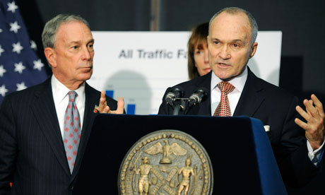 Mayor Bloomberg and Police Comm. Kelly