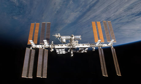 The chunk of Russian rocket came within 14 miles of the International Space Station