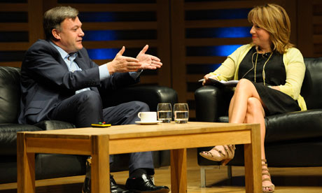 Ed Balls MP in conversation with Katherine Viner 