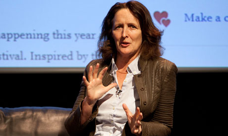 Fiona Shaw at the Guardian Open Weekend Kings Place