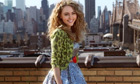 Annasophia Robb as Carrie Bradshaw in The Carrie Diaries