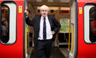 Boris Johnson tube