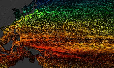 sea surface current flows from Nasa