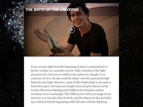 Brian Cox Wonders of the Universe for iPad