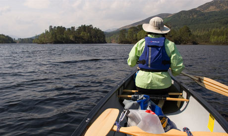 Canoeing in Scotland