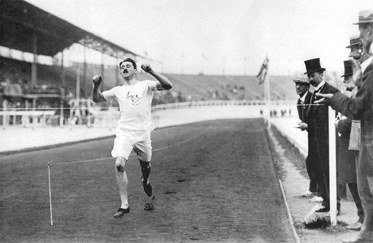 1908 Olympics: Wyndham Halswelle