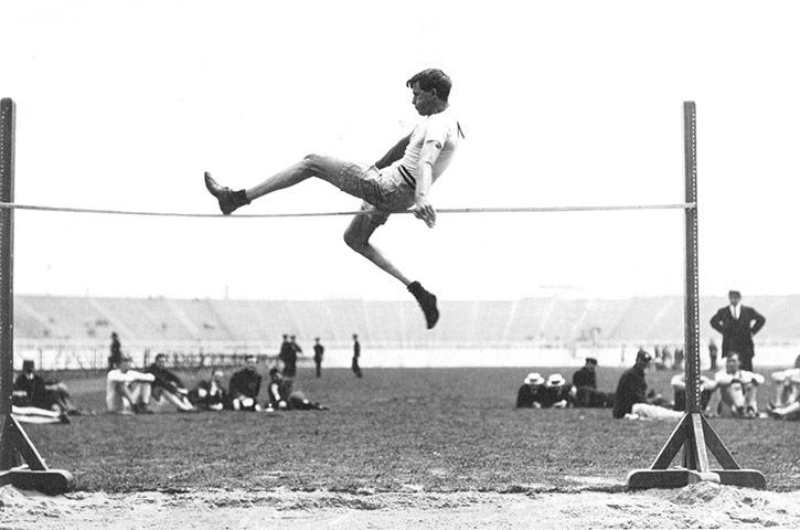 1908 Olympics: Ray Ewry
