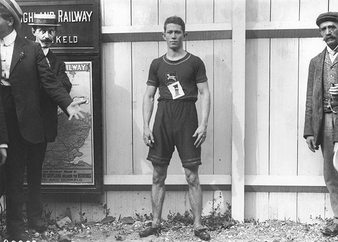 1908 Olympics: Reggie Walker