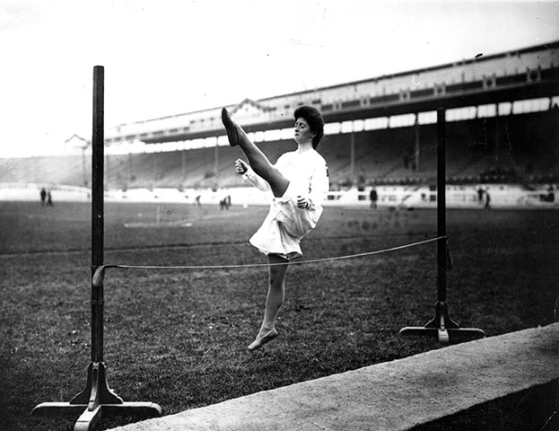 1908 Olympics: Danish Gymnast