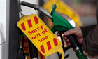 Petrol stations in edinburgh run out of fuel