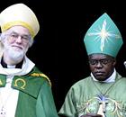 Archbishop of Canterbury Dr Rowan Williams (left) with the Archbishop of York Dr John Sentamu