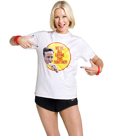 Tory Campaign: Denise Van Outen