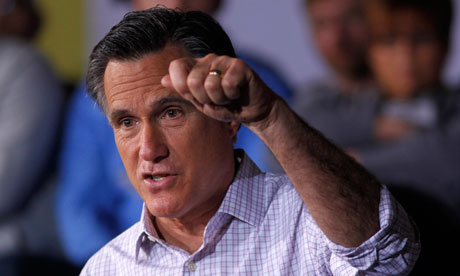 Mitt Romney campaigns in Dayton, Ohio – the Super Tuesday state expected to act as a decider in the Republican nomination battle.
