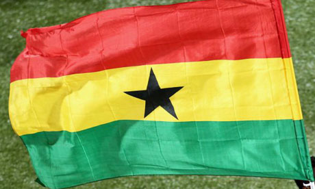 Flag of Ghana at the 2010 World Cup