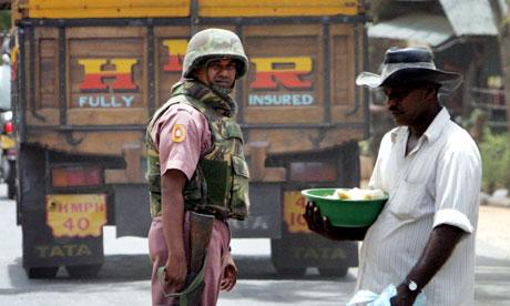 Police officer in Kantale