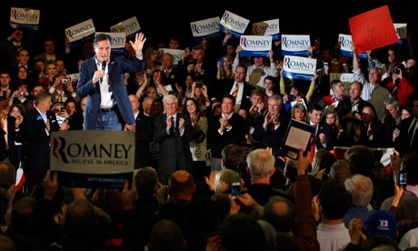 Mitt Romney in Knoxville, Tennessee