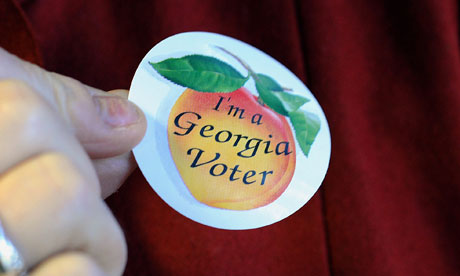 Georgia voters cast ballots on Super Tuesday