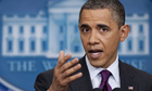 Obama derides Republican 'posturing' over use of force against Iran