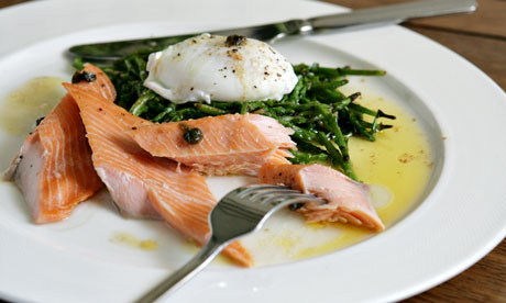 Gastropub recipe: tea-smoked salmon | Life and style | The Guardian