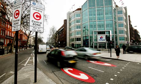 london congestion charging zone