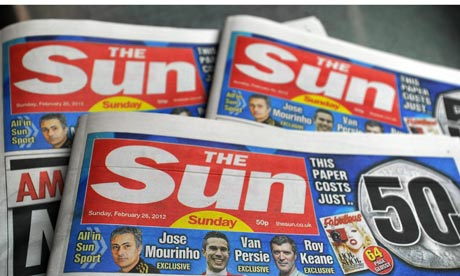 Sun on Sunday mastheads