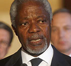 Kofi Annan, the UN-Arab League special envoy on Syria