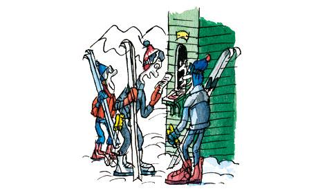 Tim Dowling column: ski trip