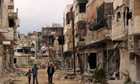Baba Amr district of Homs
